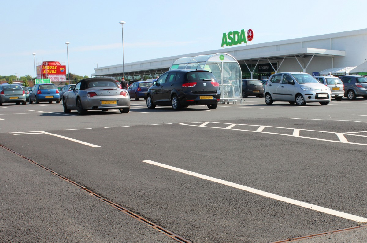 New Asda 24 hour Antrim Superstore fully open