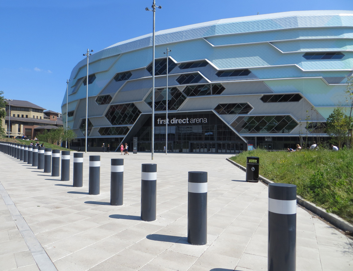 Hauraton drainage at the new First Direct Arena – Leeds