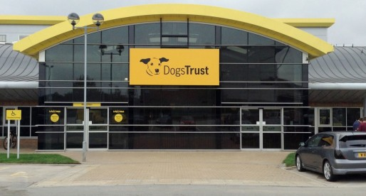 Friendly Hauraton surface drainage system  installed at Dogs Trust Centre, Manchester
