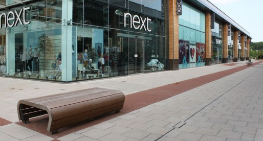 Hauraton surface water drainage systems installed at the Whiteley Shopping Centre