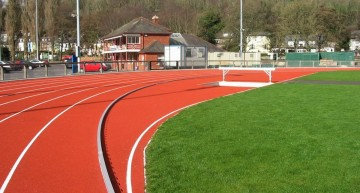 SPORTFIX® components installed at redeveloped UCC Mardyke Athletics Track, Cork City, Republic of Ireland
