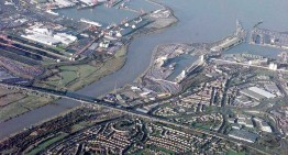 FASERFIX® SUPER channel runs drain quayside at Royal Portbury Dock, Port of Bristol