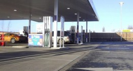 Hauraton surface drainage installed at Tesco Petrol Station, Kings Lynn, Norfolk