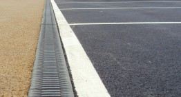 New RECYFIX®  MONOTEC drains car park at the new Travelodge Weston Super Mare